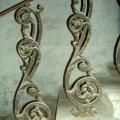 Усадьба Авдотьино, лестничное ограждение во флигеле, фото 2005 г.