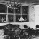 Усадьба белая Колпь. Интерьер барского дома