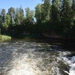 Белогорка, водосброс бывшей ГЭС