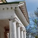 Усадьба Богородское, церковь Пресвятой Богородицы (портик)