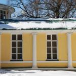 Усадьба Братцево дворец, фрагмент фасада