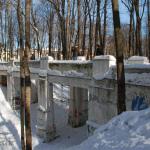 Усадьба Братцево мост в парке