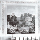 Усадьба Быково, дворец, интерьер салона 2-го этажа