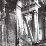 Усадьба Быково, интерьер Владимирской церкви, 1984 г.