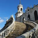 Усадьба Быково, Владимирская церковь, лестница в