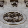 Усадьба Быково, Владимирская церковь, фрагмент декора