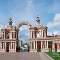 Усадьба Царицыно, ворота Хлебного дома