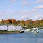 Усадьба Царицыно, пруд и мост