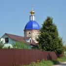 Усадьба Даниловское Никольская церковь