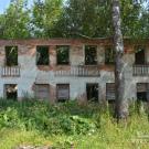 Усадьба Даниловское, старое руинированное здание