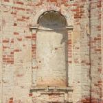 Усадьба Даниловское Никольская церковь, фрагмент декора