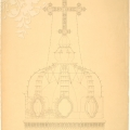 Знаменская церковь в Дубровицах, архивный чертеж