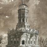 Знаменская церковь в Дубровицах