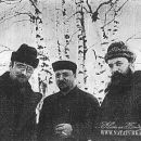 И.Э. Грабарь, М.В. и Н.В. Мещерины. Дугино, 1900-е гг.