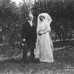 И.Э. Грабарь и В.М. Мещерина. Дугино, 13 апреля 1913 г.