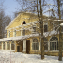 Усадьба Дугино, главный дом до пожара 2014 г. (вид со стороны парка)