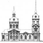 Усадьба Елизаветино (Дылицы), церковь Владимирской иконы Божией Матери, проект