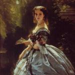 Елизавета Эсперовна Трубецкая, портрет Ф. К. Винтерхальтера (1859)