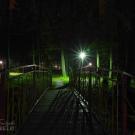 Усадьба Ершово ночью