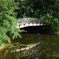 Усадьба Ершово, мостик над прудом