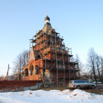 Усадьба Федино, церковь Серафима Саровского