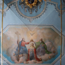Церковь Покрова в Филях, фрагмент росписи придела