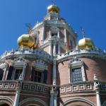 Церковь Покрова в Филях. Общий вид