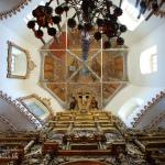 Фили. Церковь Покрова Богородицы, подкупольное пространство
