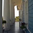 Усадьба Гальских Череповец, главный дом, лоджия