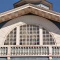 Усадьба Гальских Череповец, главный дом, трехчастное окно