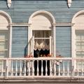 Усадьба Гальских Череповец, главный дом, балкон