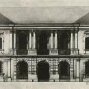 Усадьба Глинки, дом Я.В. Брюса, чертеж 1940-х гг.