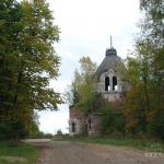 Усадьба Глухово церковь