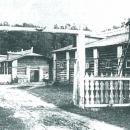 Усадьба Горки Ленинские хозяйственный двор. Фото нач. XX в. из архива Герасимовых