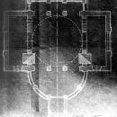Усадьба Горки Ленинские. Церковь, план (не сохранилась)