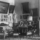 Усадьба Горки Ленинские. Интерьер главного дома до 1917г.