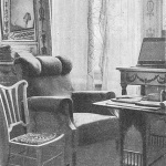 Усадьба Горки Ленинские. Комната В.И. Ленина