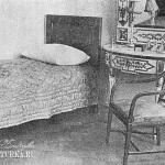 Усадьба Горки Ленинские. Спальня В.И. Ленина