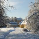 Усадьба Горки (Ленинские), служебные постройки