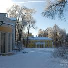 Усадьба Горки (Ленинские), главный дом и флигель