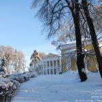 Усадьба Горки (Ленинские), главный дом и два флигеля