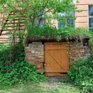 Усадьба Городня Калужская область, вход в подвал главного дома