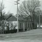 Усадьба Гостилицы. Утраченное здание. Фото 1980-х гг.