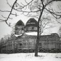 Церковь в усадьбе Гостилицы. Фото конца 1980-х гг.