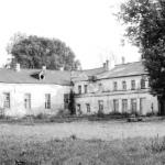 Усадьба Гостилицы. Служебные постройки. Фото 1980-х гг.
