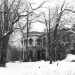 Дворец в усадьбе Гостилицы. Фото 1980-х гг.