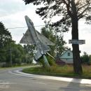 Грабцево Калужская область, самолет-памятник