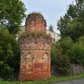 Усадьба Грабцево башня ограды парадного двора