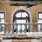 Усадьба Гребнево, руины флигеля