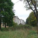 Усадьба Грузины, дворец со стороны парка